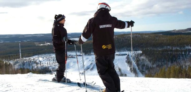Experience a ski weekend at Ski camp, Swedish Lapland
