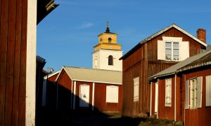 The Church in the World Heritage of Gammelstad (Old Town).